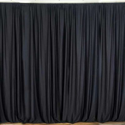 Balck Curtain Backdrop