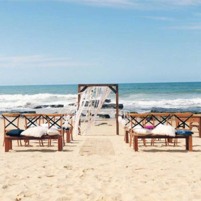 Beach Boho Wedding Sunshine Coast