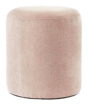 Pale Pink Ottoman