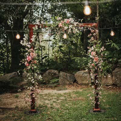 Romantic Garden Arch