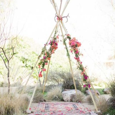 Tipi Ceremony Arch
