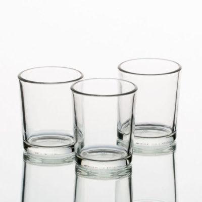 shot glass tea light