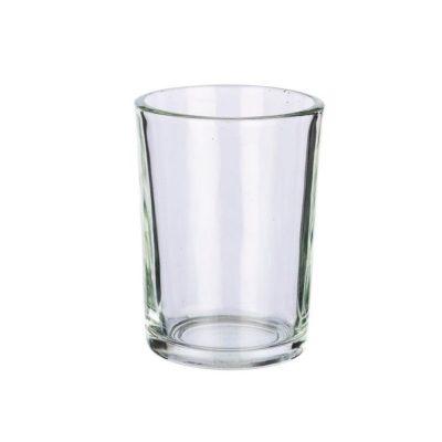 shot glass teal light