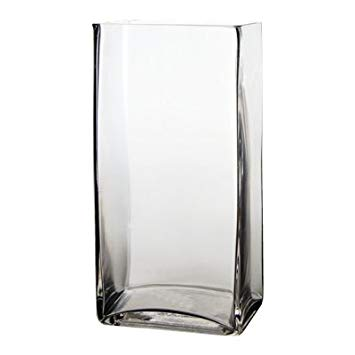 Rectangle Tall Vase