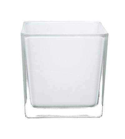 Frosted Square Tea Light