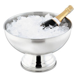 Lux Silver Ice Bucket