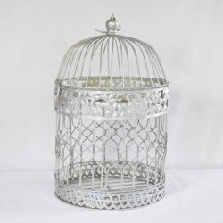 Silver Bird Cage