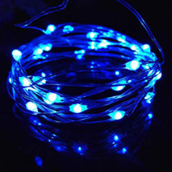 Ice Blue fairy lights