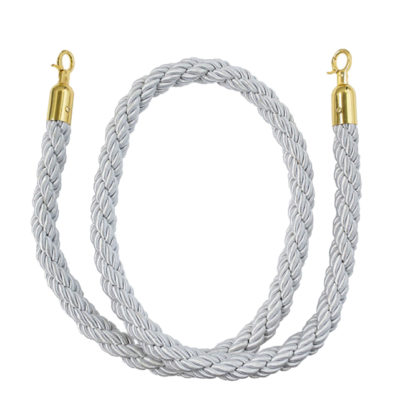 Silver Bollard Rope
