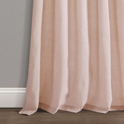 Blush Linen Curtain