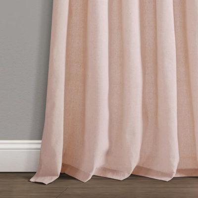 Blush Linen Curtain