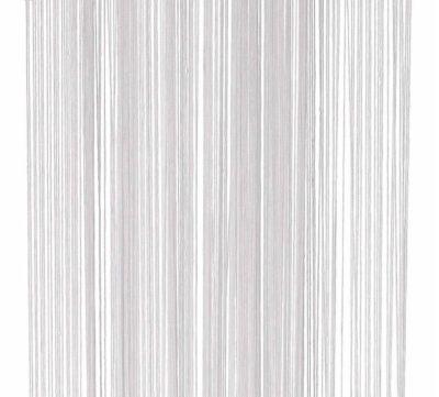 White Fringe Curtain