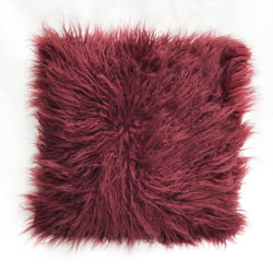 Burgundy Cushion