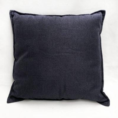 Navy Linen Cushion