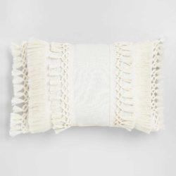 Moroccan Tassel Cushion