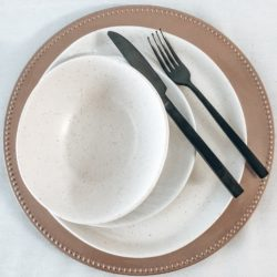 Dinnerware - Rose Gold Charger Plate