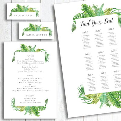 Tropical stationery