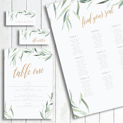 Blush Weddings & Events' in-house Stationery designer will customise your Wedding Stationery to suit your individual needs and personal style.