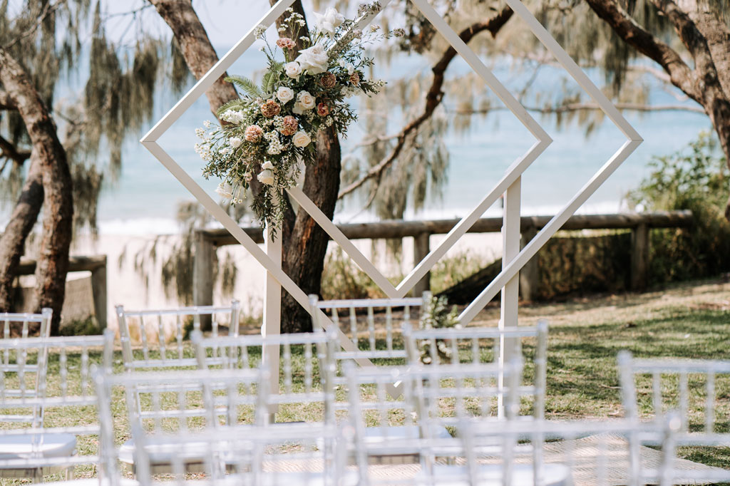 Blush Weddings and Events have so many different styles of ceremony furniture to choose from.